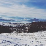 Berg Rumänien Royaltyfri Fotografi