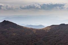 Berg runt om Gwangju Royaltyfria Foton