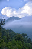 Berg runt om Tian Mu Shan Royaltyfri Fotografi