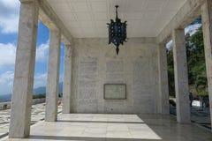 Berg Samat National Shrine lizenzfreie stockfotos