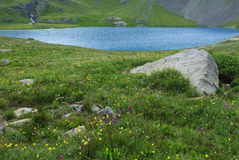 berg san för colorado isjuan lake Arkivbild