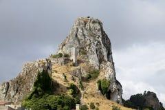 Berg-Schloss, andernfalls bekannt als Lizenzfreie Stockfotografie