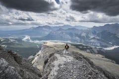 Berg-schwarzer Felsen Stockfotos