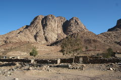 Berg Sinai Royaltyfri Foto