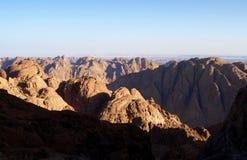 Berg Sinai Stockfotos