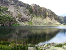 Berg sjö Arkivfoton