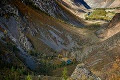 Berg sjö, Altai berg royaltyfri bild
