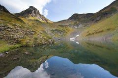 Berg sjö i Abchazien caucasus Royaltyfri Fotografi