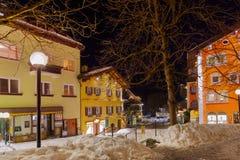 Berg skidar semesterortdåligan Hofgastein Österrike Royaltyfri Foto
