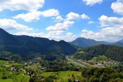 berg slovenia Fotografering för Bildbyråer