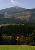 Berg Snezka Stockfotos