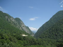 berg sochi Royaltyfria Foton