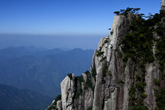 berg som sanqing Arkivfoto