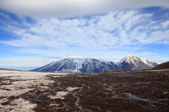 Berg Sopka Ploskaya Stockfoto