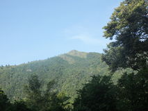 Berg in Sri Lanka Lizenzfreie Stockfotografie