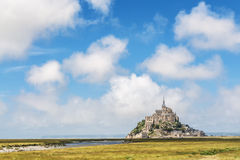 Berg-St. Michel in Normandie Stockbild