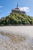 Berg-St. Michel in Normandie Lizenzfreies Stockbild