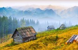 Berg sunrise_1 Royalty-vrije Stock Foto's