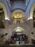 BERG TABOR, ISRAEL July 10, 2015: Berg-Tabor-Eingang zum c Lizenzfreie Stockfotos