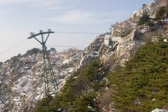 Berg Tai von Shangdong China Lizenzfreie Stockbilder
