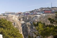 Berg Tai von Shangdong China Lizenzfreies Stockfoto