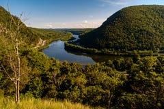 Berg Tammany Delaware Water Gap lizenzfreies stockfoto