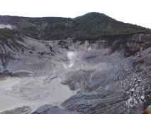 Berg Tangkuban Parahu Stockfoto