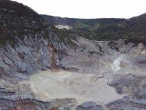 Berg Tangkuban Parahu Stockbilder