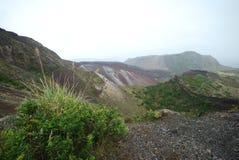Berg Tarawera Stockfoto