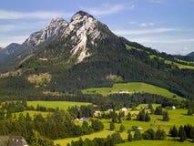 Berg in Tauplitz stockfoto