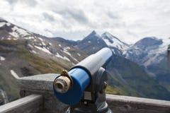 Berg Teloscope - materielfoto Royaltyfri Foto