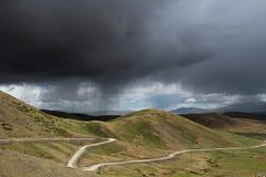 Berg in Tibet Stock Afbeeldingen