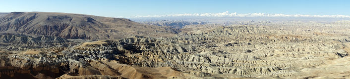 berg tibet Royaltyfria Bilder