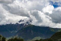 Berg Tibet Arkivfoton