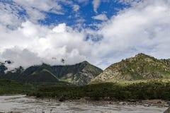 Berg Tibet Arkivfoto