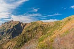 Berg Tnigawa Stockbild