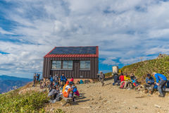 Berg Tnigawa Lizenzfreie Stockbilder