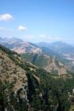 berg umbria Arkivfoton