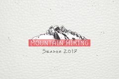 Berg und Abenteuer im Freien Berg Komovi, Montenegro Ausführliche Elemente Lizenzfreies Stockfoto