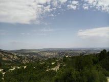 Berg und Grünflächen Lizenzfreie Stockfotografie