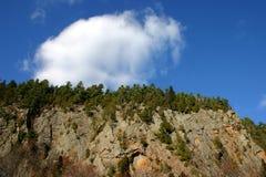 Berg und Himmel Stockbilder