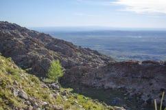 Berg und Himmel Lizenzfreies Stockfoto