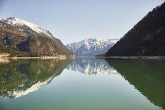 """Berg und See am Achensee See in Österreich-†""""Stockfoto Lizenzfreies Stockbild"""