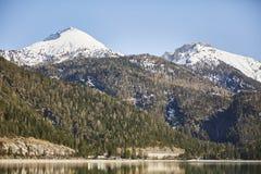 """Berg und See am Achensee See in Österreich-†""""Stockfoto Stockfotografie"""
