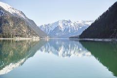 """Berg und See am Achensee See in Österreich-†""""Stockfoto Stockbilder"""