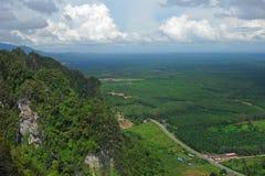 Berg und Vogelperspektive Krabi Stockbilder