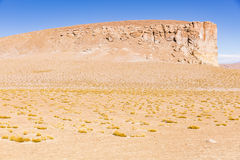 Berg und Wüste im Los-Flamenco-national Reserve stockbild