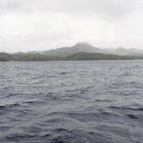 Berg und Wellen Stockbilder