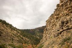 Berg - Utah Arkivbild