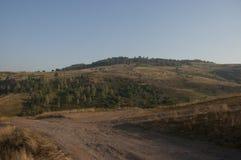 Berg Uvac i den Serbien planinaen Uvac u Srbiji Arkivbilder